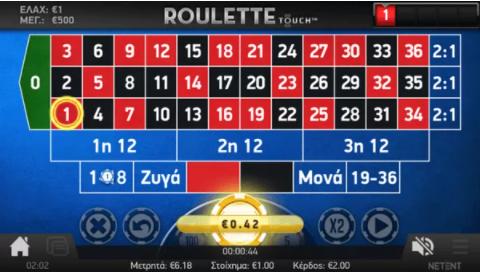 Interwetten roulette