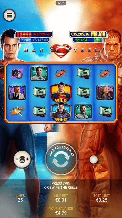 King_Solomons_Slot_Man_of_Steel