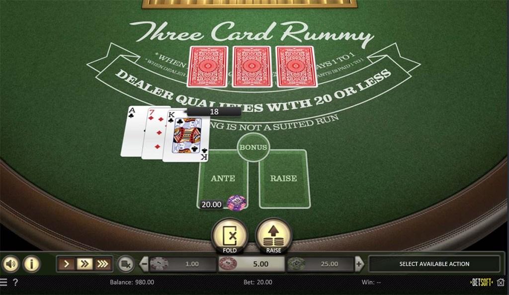 3 card rummy
