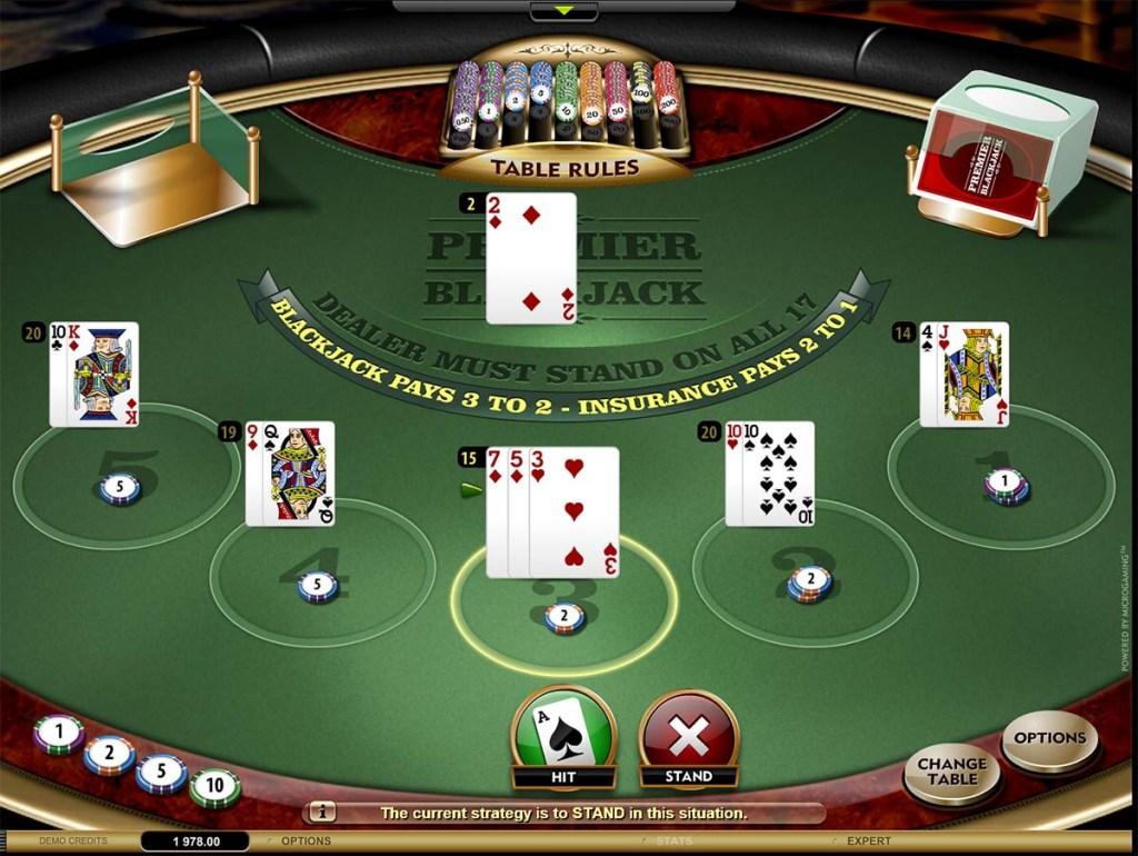Τραπέζι του Blackjack